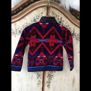 🔥NWT 4T Ralph Lauren Fleece Jacket Southwest